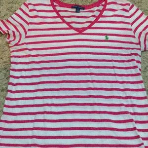 NEVER WORN Women's Ralph Lauren Tee L